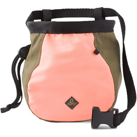 Prana Large Chalk Bag with Belt Women coral